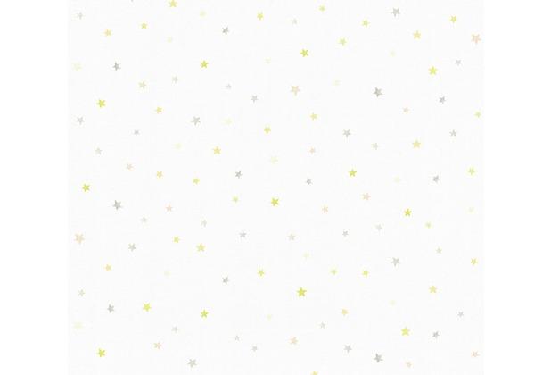 esprit kids Papiertapete Ökotapete grau grün weiß 356941 10,05 m x 0,53 m
