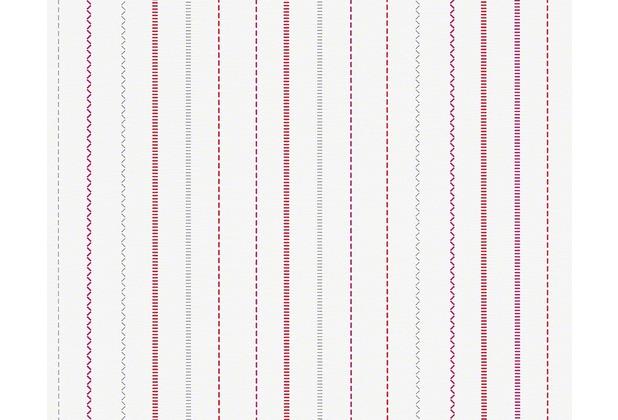 """ESPRIT Kids Streifentapete \""""Girls Dreams\"""", Vliestapete, metallic, rot, violett 10,05 m x 0,53 m"""