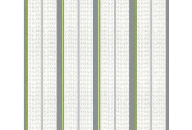 esprit kids Vliestapete Tapete grau grün weiß 357071 10,05 m x 0,53 m