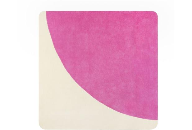 ESPRIT Kurzflor-Teppich Corro ESP-4307-04 pink 100x100 cm