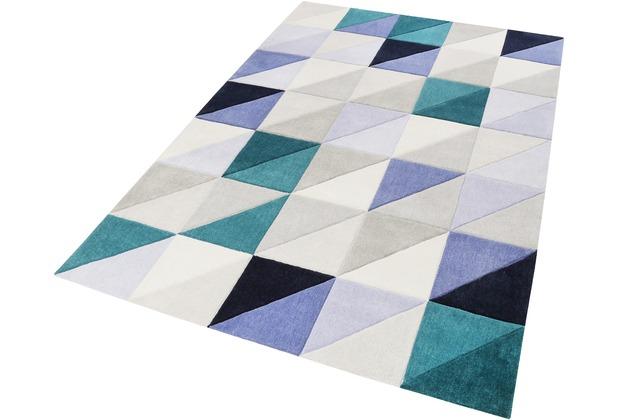 ESPRIT Kurzflor-Teppich Fastlane ESP-4313-04 grau 70x140 cm