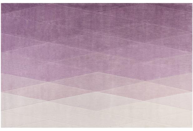 ESPRIT Kurzflor-Teppich Haux ESP-4318-01 lila 70x140 cm