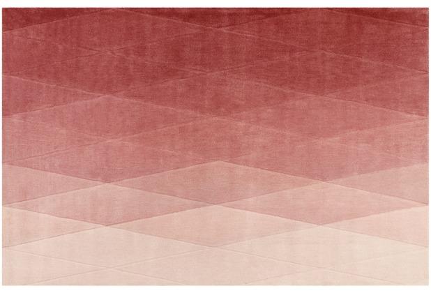 ESPRIT Kurzflor-Teppich Haux ESP-4318-02 rosa 70x140 cm