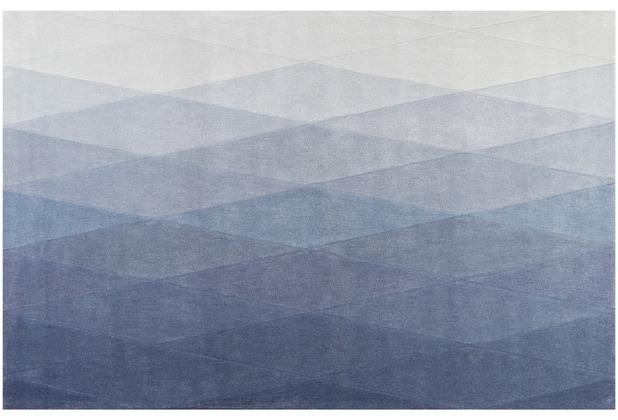 ESPRIT Kurzflor-Teppich Haux ESP-4318-03 blau 70x140 cm