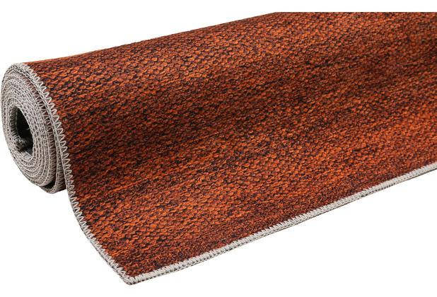 ESPRIT Kurzflor-Teppich Perry ESP-0147-06 rost 60x100