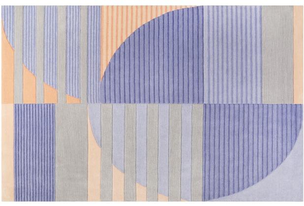 ESPRIT Kurzflor-Teppich Skybase ESP-4303-01 blau 70x140 cm