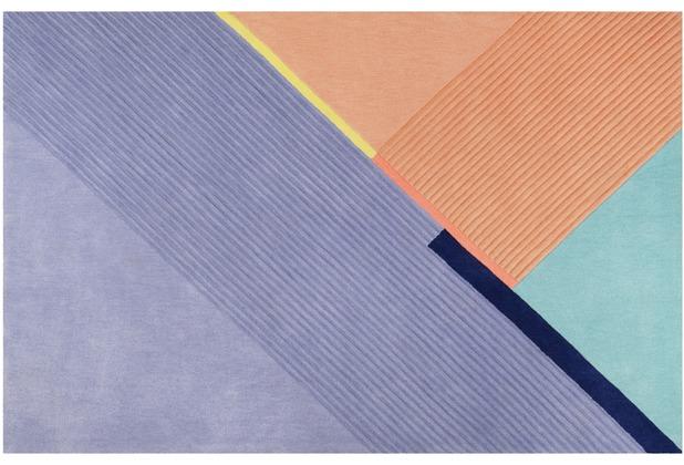 ESPRIT Kurzflor-Teppich XAZ ESP-4305-01 blau 70x140 cm