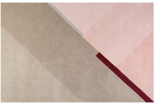 ESPRIT Kurzflor-Teppich XAZ ESP-4305-03 beige 70x140 cm