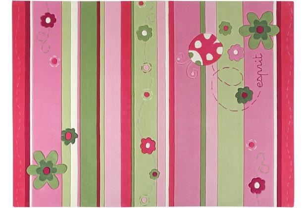 ESPRIT Kinderteppich Ladybird ESP-2982-01 rosa/pink 140 x 200 cm
