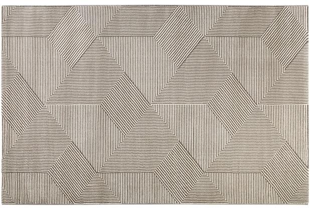 ESPRIT Moderne Teppiche Velvet Groove ESP-8780-956 beige 80x150 cm