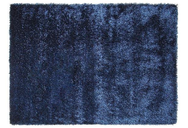 ESPRIT Hochflor-Teppich New Glamour ESP-3303-13 jeansblau 70 x 140 cm