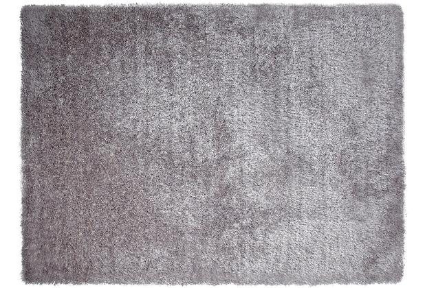 ESPRIT Hochflor-Teppich New Glamour ESP-3303-14 silber 70 x 140 cm