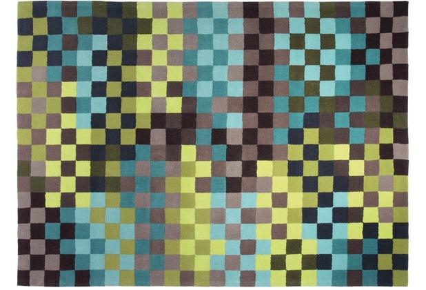 ESPRIT Teppich Pixel ESP-2834-03 grün 70 x 140 cm