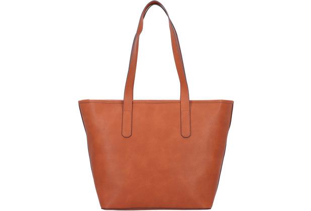 ESPRIT Shopper Tasche 45 cm rust brown