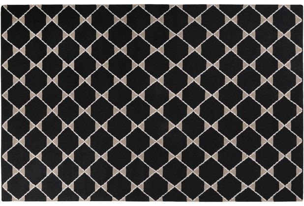 ESPRIT Teppich Aaron Kelim ESP-6010-01 schwarz 80x150