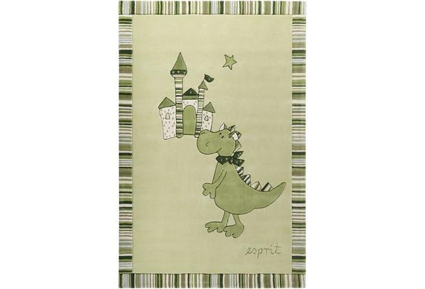 ESPRIT Teppich Dragon & castle ESP-508-02 grün 70x140