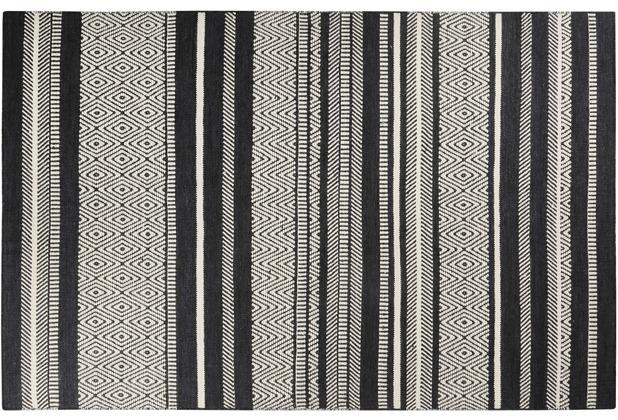 ESPRIT Teppich Hudson Kelim ESP-6113-01 grau 80x150