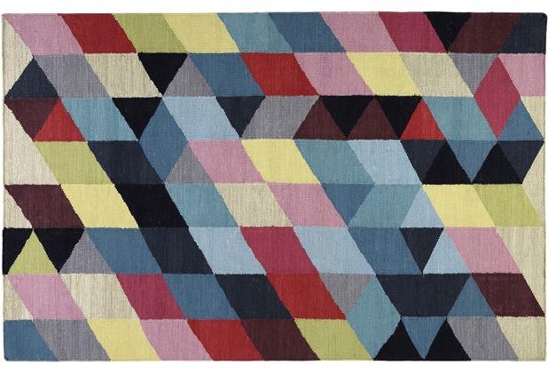 ESPRIT Handwebteppich Rainbow Triangle Kelim ESP-7722-01 multicolor 60x110