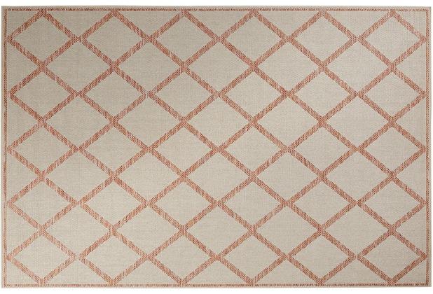 ESPRIT Teppich Sparkle Outdoor (Rhomb) ESP-5574-720 beige 80x150