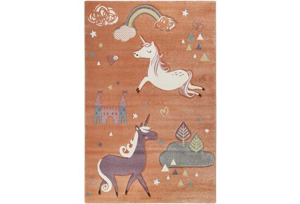 ESPRIT Teppich Sunny Unicorn ESP-21974-020 pastellorange 80x150