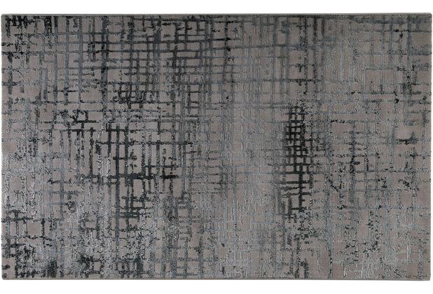 ESPRIT Teppich Velvet grid ESP-3385-953 petrol 80x150