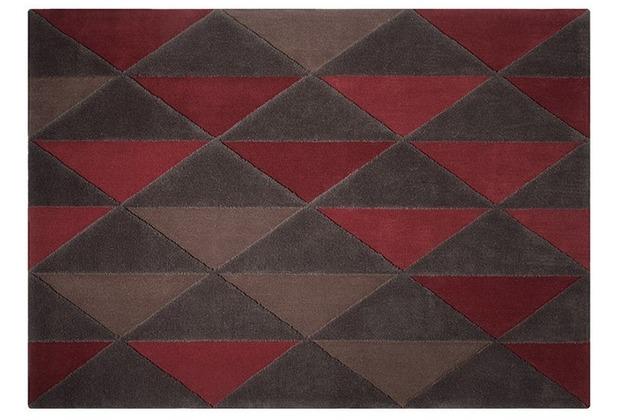 ESPRIT Teppich Triangle ESP-3627-01 rot 70 x 140 cm