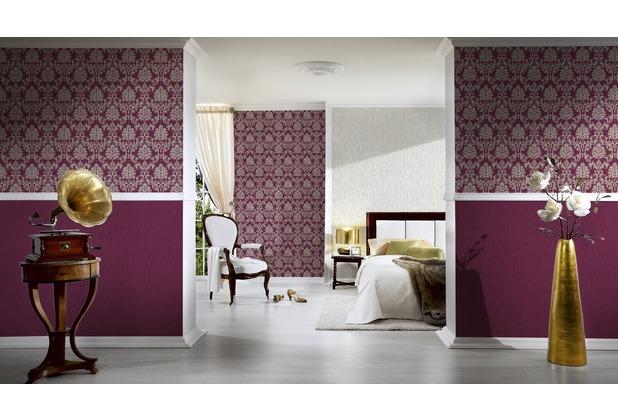 ESPRIT Vliestapete Eccentric Luxury Tapete metallic rot 10,05 m x 0,53 m