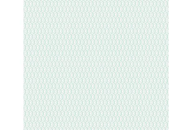 ESPRIT Vliestapete ECO Ökotapete PVC-frei grün metallic weiß 358193 10,05 m x 0,53 m