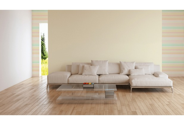 ESPRIT Vliestapete Eco Wallpaper Tapete Uni gelb 10,05 m x 0,53 m