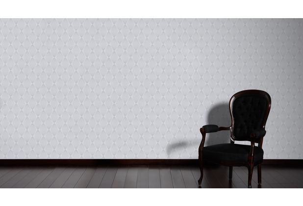 ESPRIT Vliestapete Minimalistic Authenticity Tapete grau metallic 10,05 m x 0,53 m
