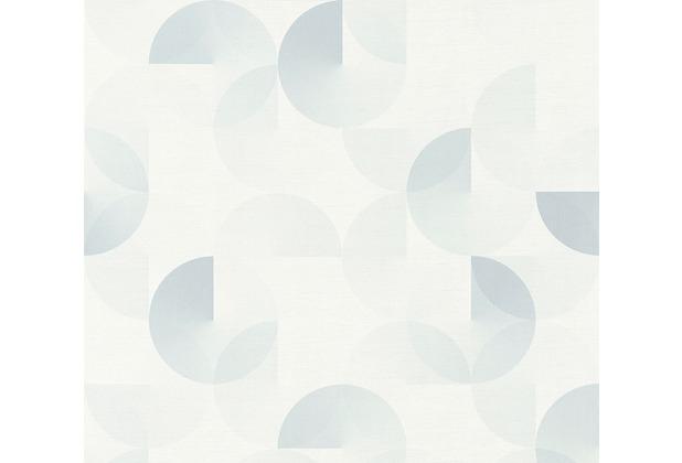 ESPRIT Vliestapete Morning Blush Tapete geometrisch grafisch grau 10,05 m x 0,53 m