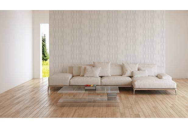 ESPRIT Vliestapete Morning Blush Tapete gestreift grafisch grau 10,05 m x 0,53 m