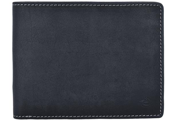 Esquire Dallas Geldbörse Leder 12,5 cm schwarz