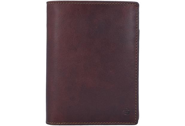 Esquire Dallas Geldbörse Leder 9,5 cm braun