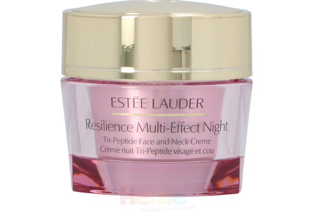 Estee Lauder Resilience Lift Night Face And Neck Cream All Skin Types, Gesichtscreme 50 ml