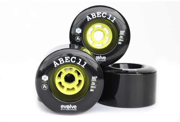 Evolve 107mm Wheels - 4er Set