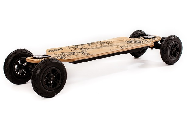 Evolve Bamboo GT All-Terrain E-Skateboard