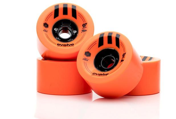Evolve GTR Wheels 97 mm - orange