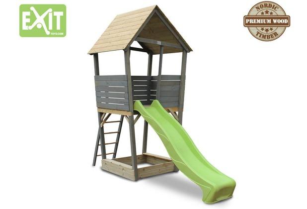 EXIT Aksent Holzspielturm - grau