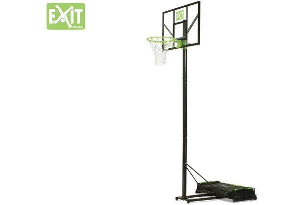 EXIT Comet versetzbarer Basketballkorb - grün/schwarz