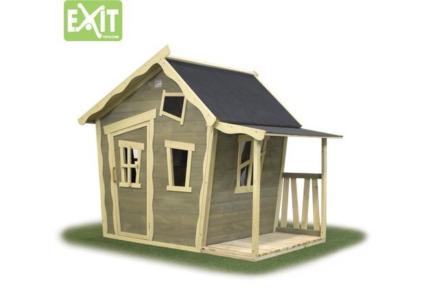 EXIT Crooky 150 Holzspielhaus - graubeige