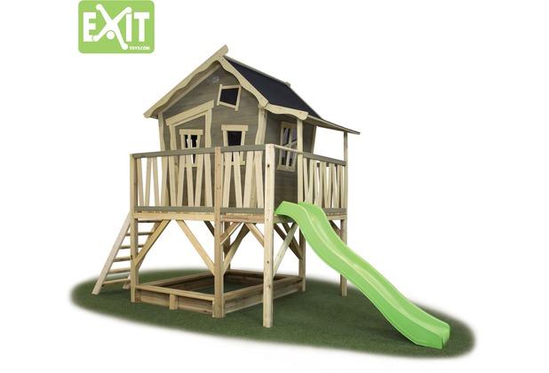 EXIT Crooky 550 Holzspielhaus - graubeige