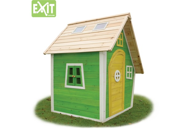 EXIT Fantasia 100 Holzspielhaus - grün