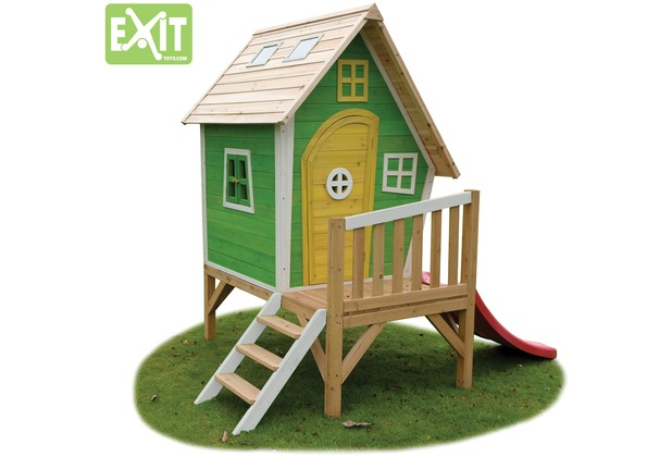 EXIT Fantasia 300 Holzspielhaus - grün