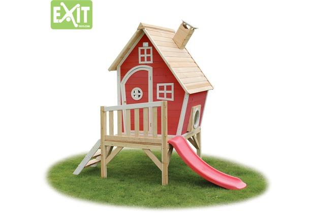 EXIT Fantasia 300 Holzspielhaus - rot