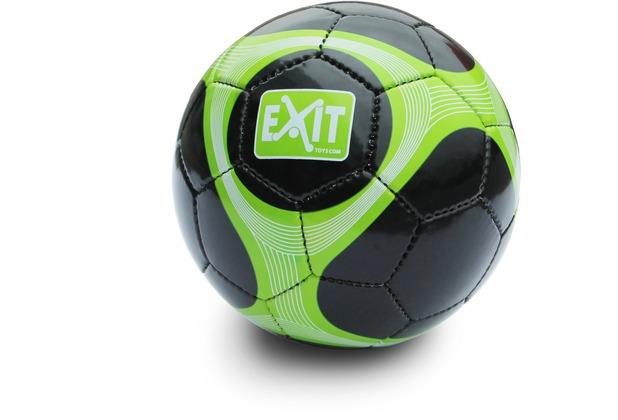 EXIT Fußball Größe 5 - grün/schwarz