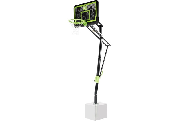 EXIT Galaxy Basketballkorb zur Bodenmontage - Black Edition