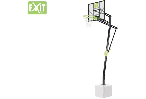 EXIT Galaxy Basketballkorb zur Bodenmontage - grün/schwarz