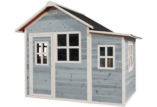 EXIT Loft 150 Holzspielhaus - blau