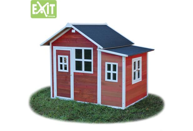 EXIT Loft 150 Holzspielhaus - rot